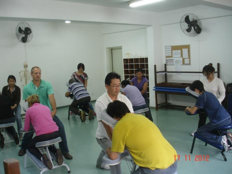 Curso de Quick Massage Preço em São Bernardo do Campo - Curso de Kinesio