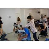 quanto custa curso de quick massage no Pari